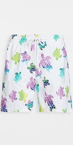 Vilebrequin - Multicolor Turtles Moorea Shorts