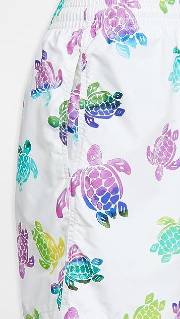 Vilebrequin Multicolor Turtles Moorea Shorts