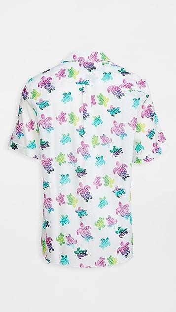 Vilebrequin Multicolor Turtles Charlie Shirt
