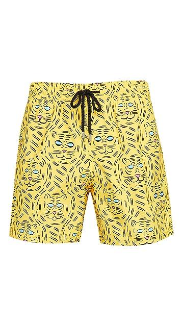 Vilebrequin Bengale Tigers Shorts