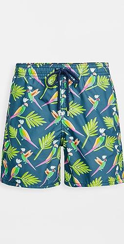 Vilebrequin - Multicolor Parrots Shorts