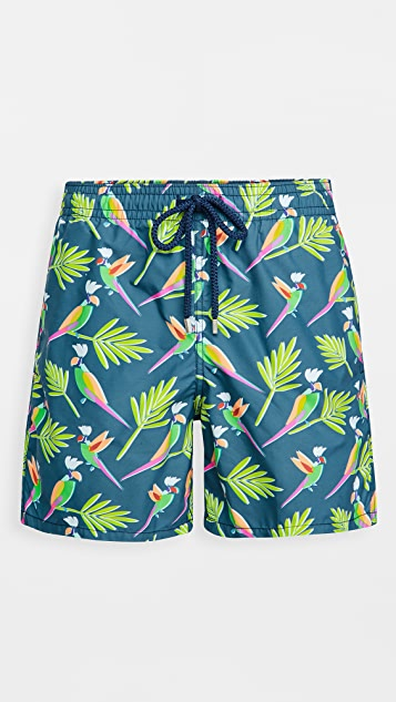 Vilebrequin Multicolor Parrots Shorts