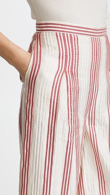 Vilshenko Ashling Stripe Culottes