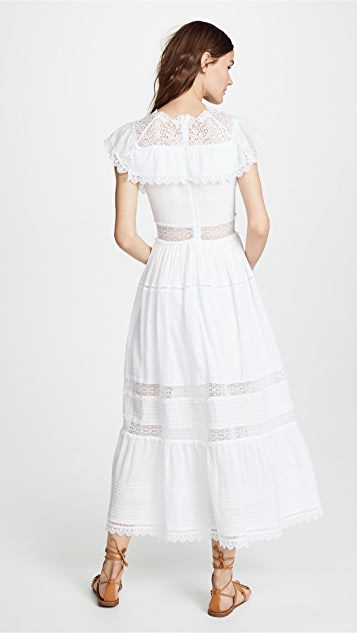 Vilshenko Alicia Lace Dress