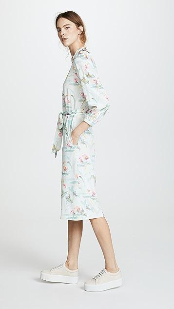 Vilshenko Melody Lily Print Jumpsuit