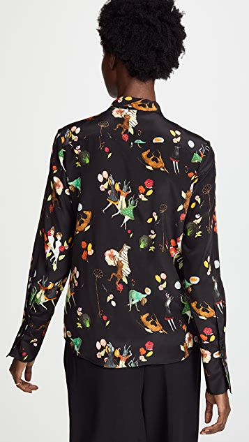 Vilshenko Vivienne Festive People Top