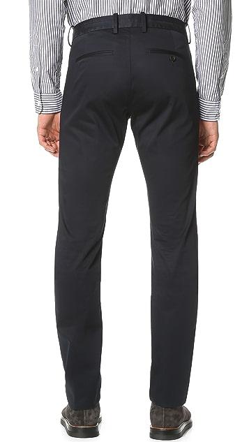 Vince Cotton Sateen Urban Trousers