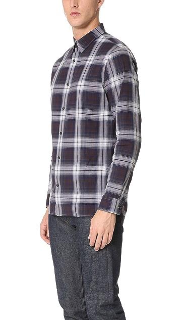 Vince Square Hem Melrose Shirt
