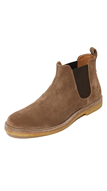 Vince Sawyer Suede Chelsea Boots