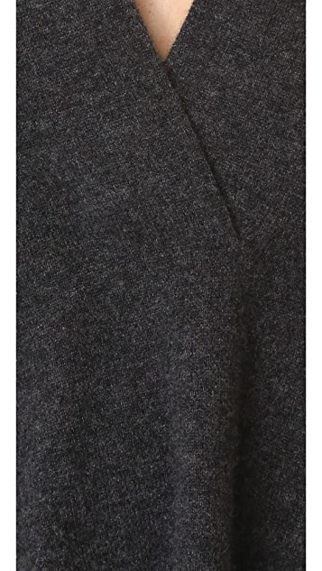 Vince Short Sleeve Oversized Sweater
