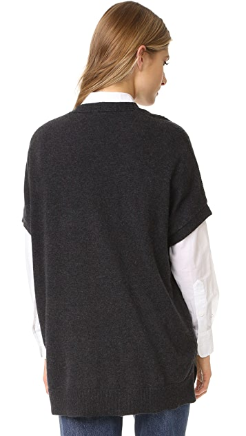Vince Short Sleeve Rib Tunic
