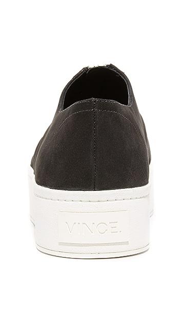 Vince Warner Zip Up Sneakers