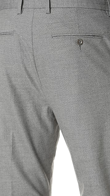 Vince City Cropped End on End Chinos
