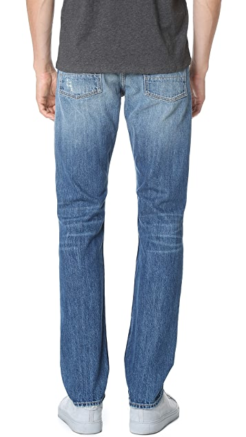 Vince Selvedge Straight Fit Jeans