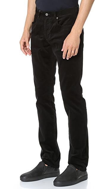 Vince 718 Slim Taper 5 Pocket Corduroy Pants