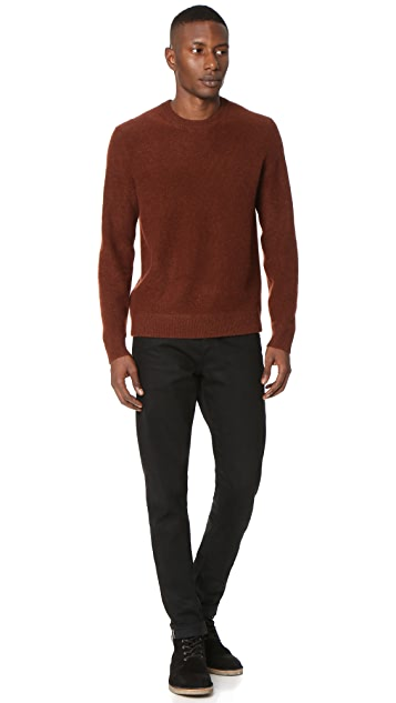 Vince Boiled Cashmere Crew Sweater