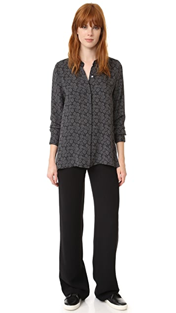 Vince Covered Placket Shirt