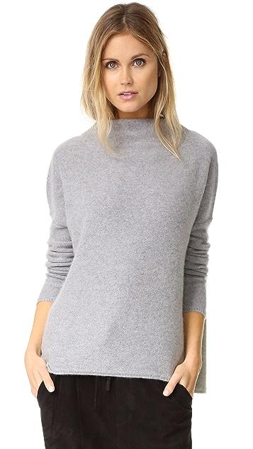 c8831d52499fbf Vince Boiled Cashmere Funnel Neck Sweater | SHOPBOP