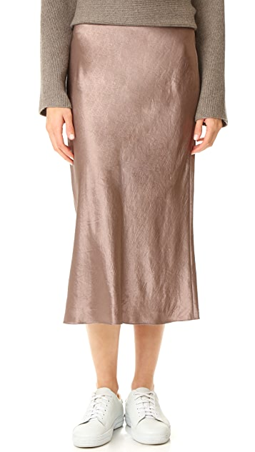 7e6194c8e9 Vince Satin Flare Skirt | SHOPBOP