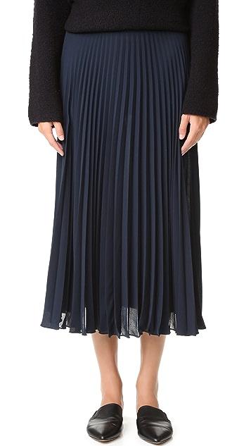 45da70418 Vince Pleated Skirt | SHOPBOP