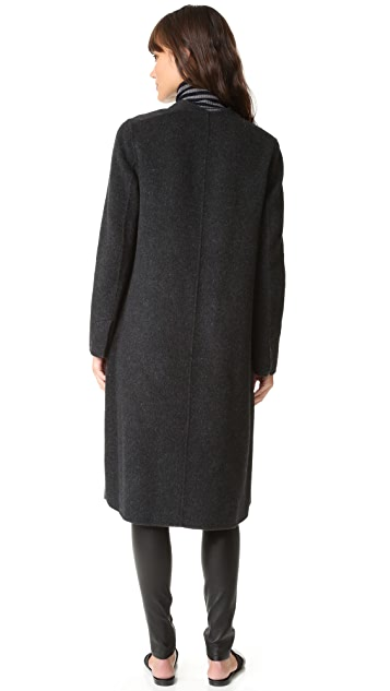 Vince Wool Shell Coat
