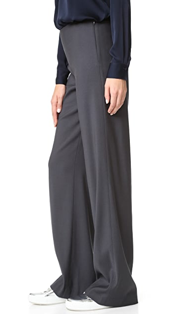 Vince Deconstructed Wide Leg Pants