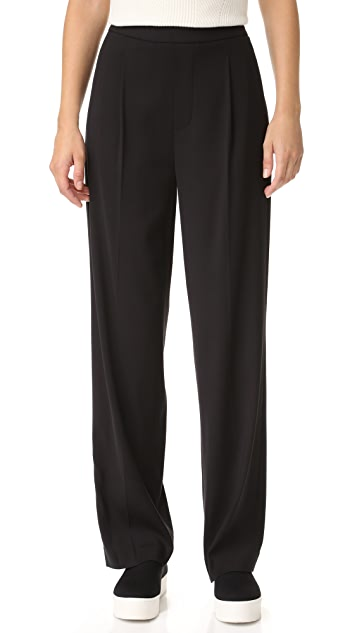 Vince Single Pleat Soft Pants