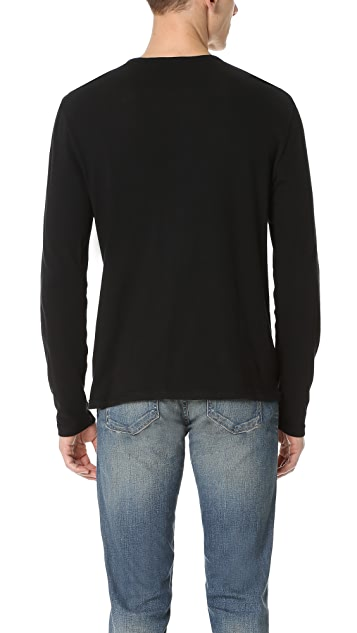 Vince Raw Edge Henley