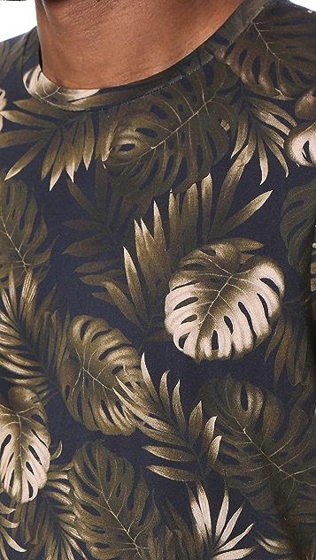 Vince Floral Print Tee