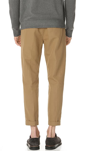 Vince Relaxed Cropped Trousers