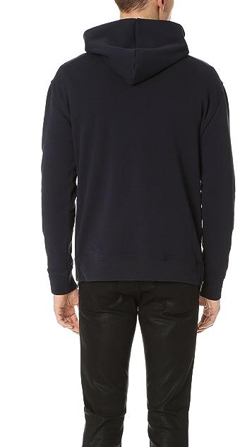 Vince Side Zip Pullover Hoodie