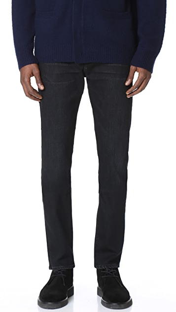 Vince Drop Rise 5 Pocket Jeans