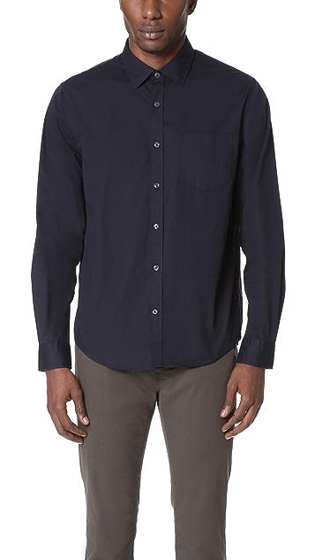Vince Garment Washed Shirt