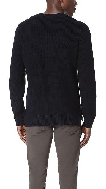 Vince Textured Crew Neck Sweater