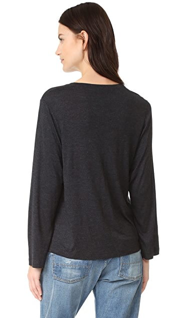 Vince Full Sleeve Crew Neck Tee