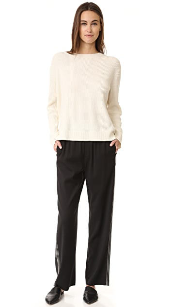 Vince Slit Back Sweater