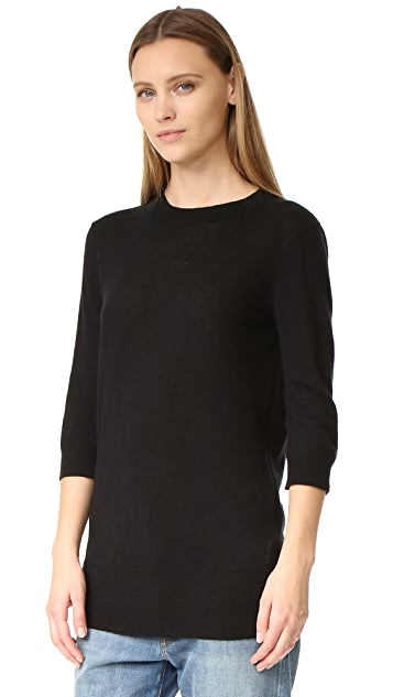 Vince Elbow Sleeve Pullover