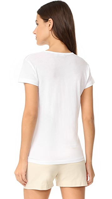 Vince Relaxed Short Sleeve Tee