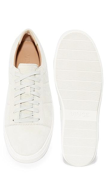 Vince Lynwood Suede Sneakers