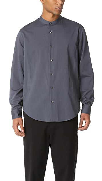 Vince Banded Collar Shirt