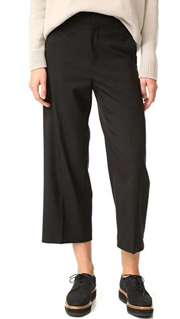 Vince Highwaisted Crop Wide Trouser