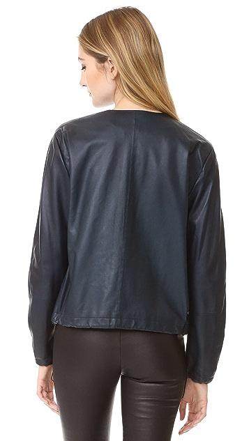 Vince Golf Leather Jacket