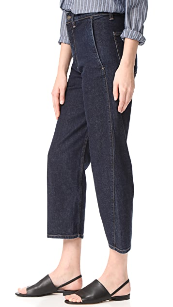 Vince High Rise Utility Jeans