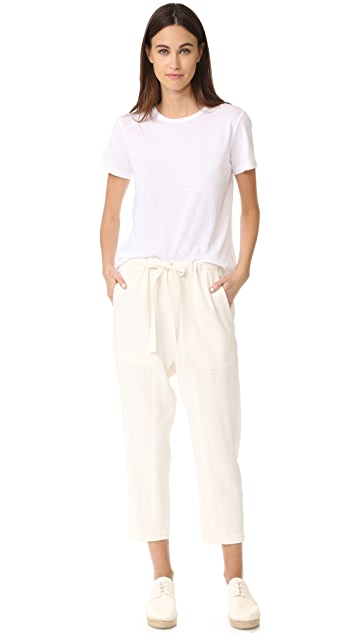 Vince Cropped Easy Pants
