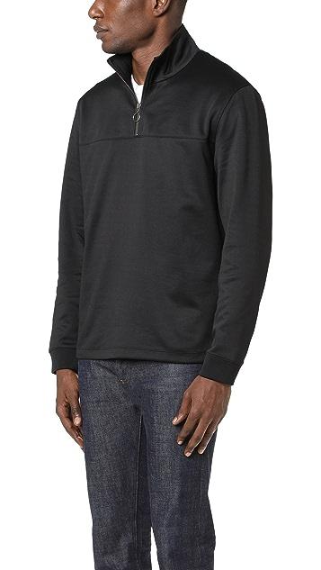 Vince Half Zip Track Jacket