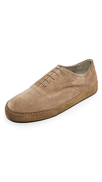 Vince Norris Suede Lace Up Sneakers