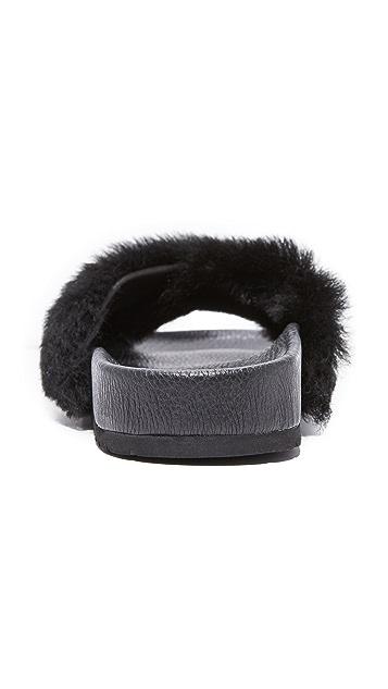 Vince Garrison Fur Slides