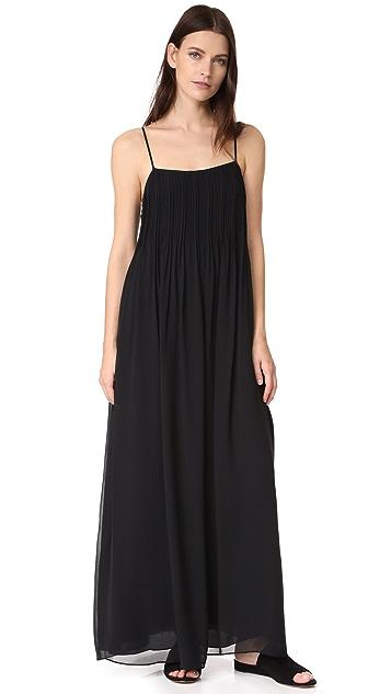 Vince Pintuck Maxi Dress
