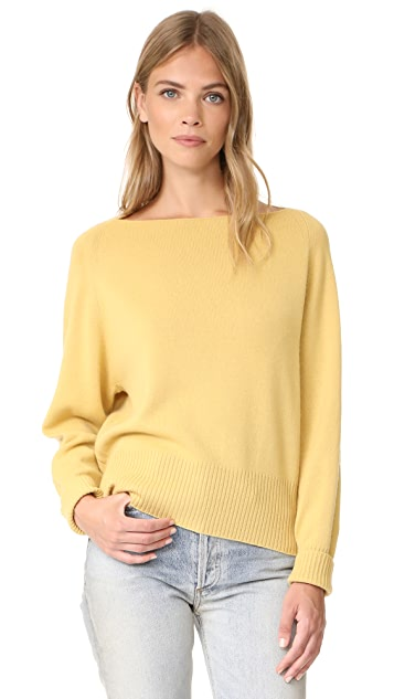 5eac7d0609 Vince Boat Neck Cashmere Pullover Sweater