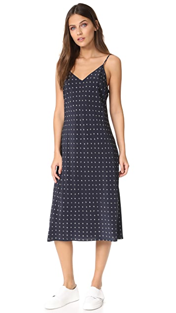 Vince Refined Dot Cami Dress